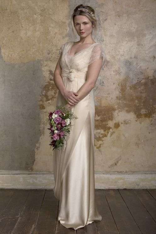 Coloured Wedding Dresses From Top UK Bridal Designers | Brautkleider ...