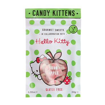 Candy Kittens Hello Kitty Sour Apple Gourmet Vegan Sweets Sour Apple Holland Barrett The Uk S Leading Health Retailer Xmas Vegan Eats Vegan Sweets