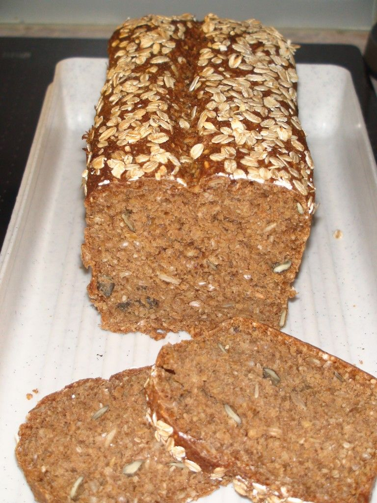 Sourdough Rye Multigrain Mol Bread Mehrkorn Schwarzbrot Wholemeal Rye Sourdough Oat Flour Barley Flour Rye Flour Wheat Flour Oatmeal