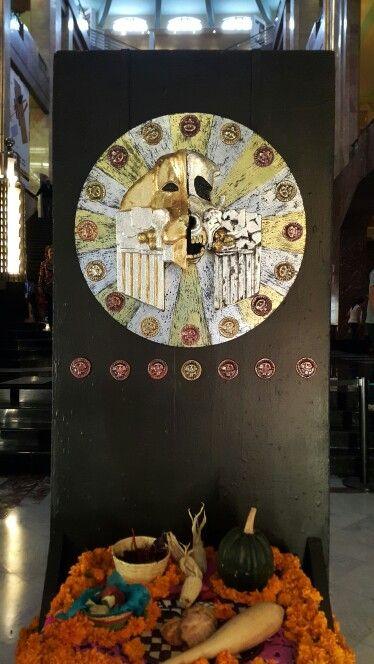 Celebraciones de Día de Muertos. Day of the Deaths Celebration.