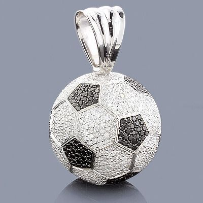 Soccer jewelry 18k gold diamond soccer ball necklace must have soccer jewelry 18k gold diamond soccer ball necklace mozeypictures Image collections