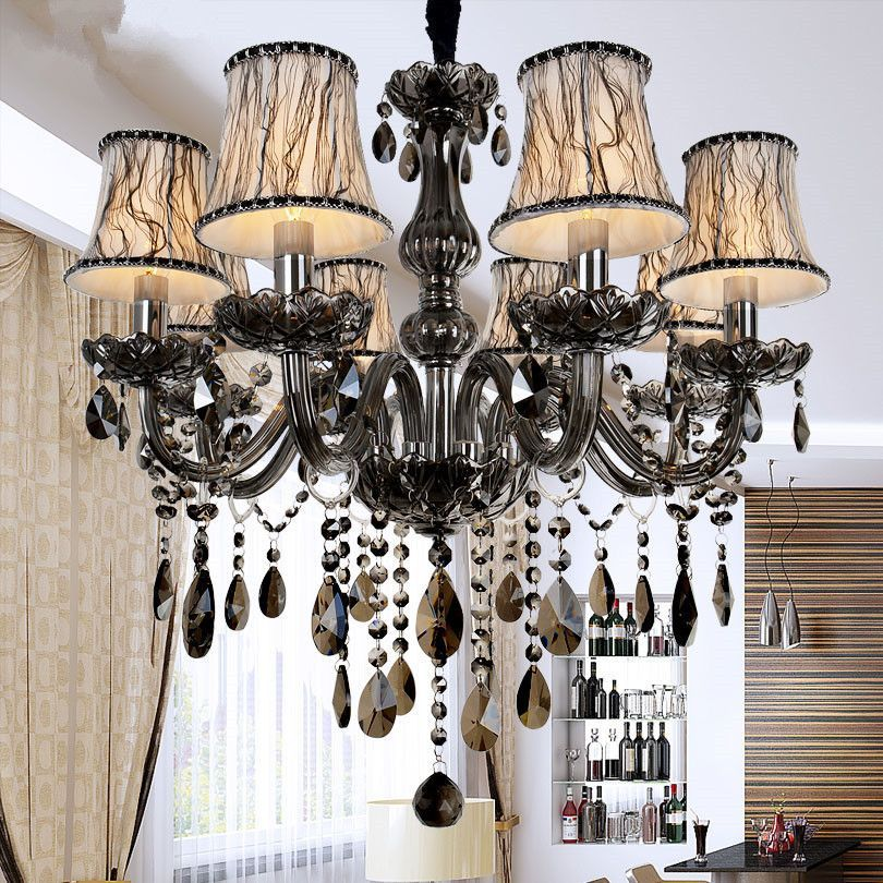 Item type chandeliers brand name crystal chandelier shade type crystal shade direction down number of lights 6 features chandelier body material