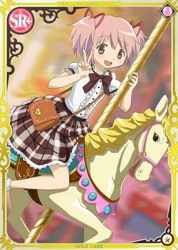 Madoka Amusement Park Madoka Magica Mobage Cards Magical