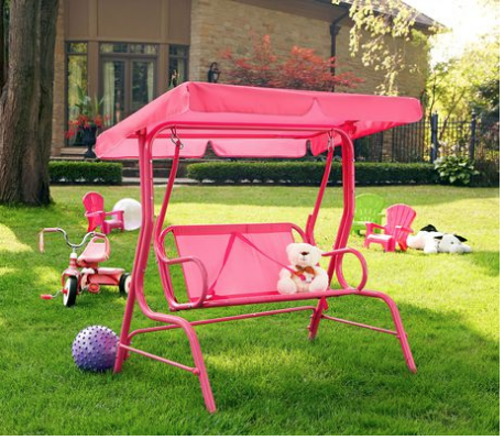 Elegant Walmart Canada Clearance Offers: Save 50% On Mainstays Junior Patio Swing  50% On