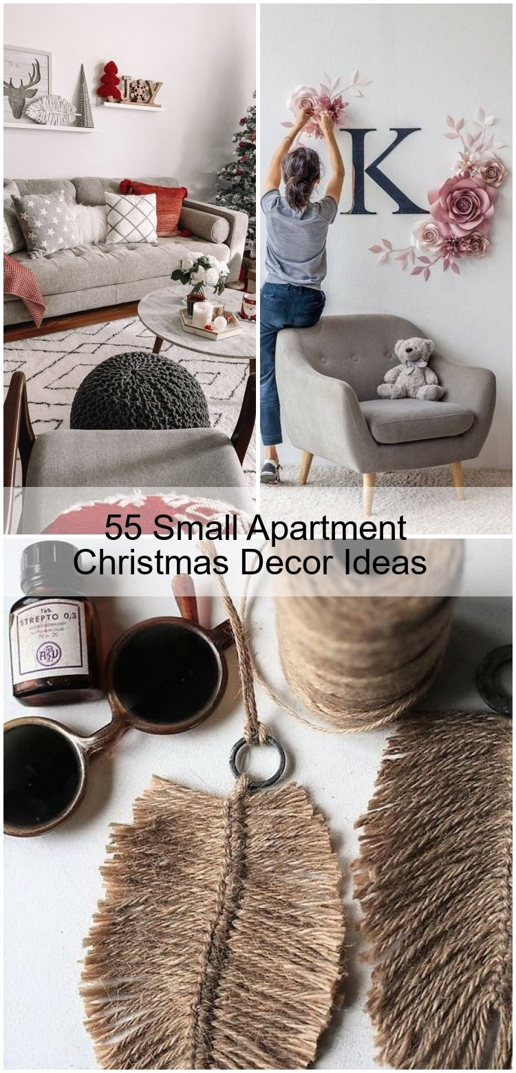 55 Small Apartment Christmas Decor Ideas
