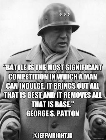 Old Blood & Guts! Gen. Patton'...