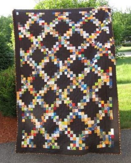 Irish Quilting Designs and Patterns | Irish chain quilt, Chains ... : irish chain quilt pattern free - Adamdwight.com