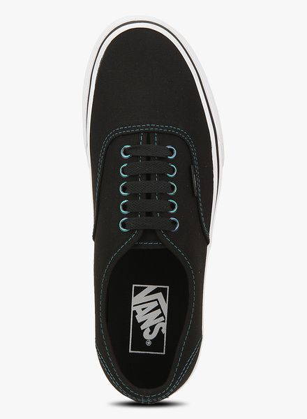787a1e3cd3 Buy Vans Authentic BLACK SNEAKERS for Men Online India