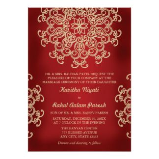 indian style wedding invitations google search - Indian Wedding Invitations