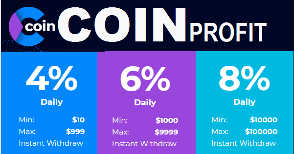 COIN-PROFIT investment review в 2019 г  | Earn money with Bitcoin