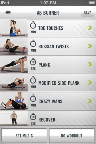 nike fit club app is awesome. Closest thing I've found to a MLEOTA workout