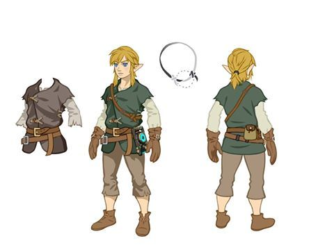 Concept Art From The Legend Of Zelda Breath Of The Wild