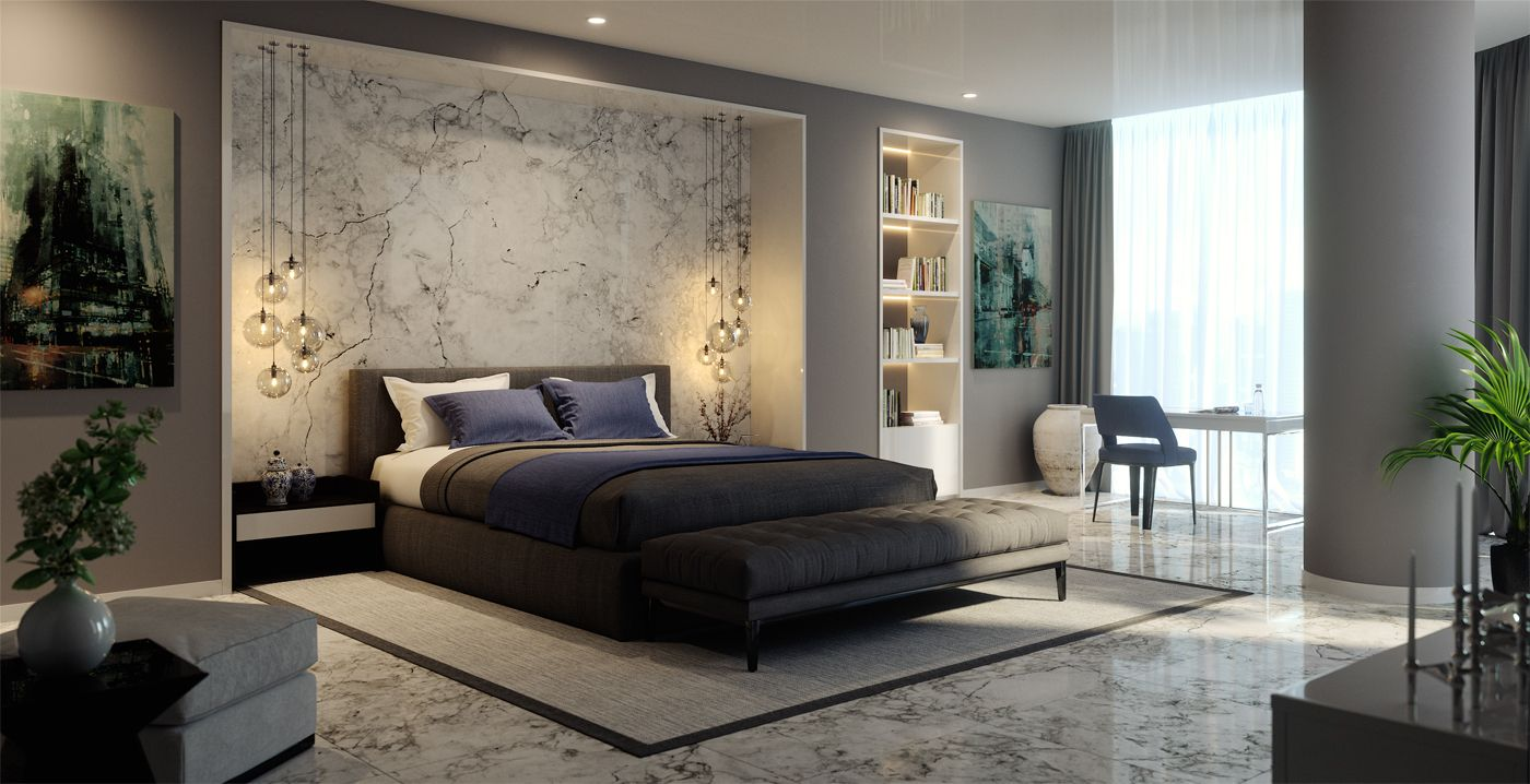 LuX on Behance | Luxe bedroom, Luxurious bedrooms, Luxury bedroom ...