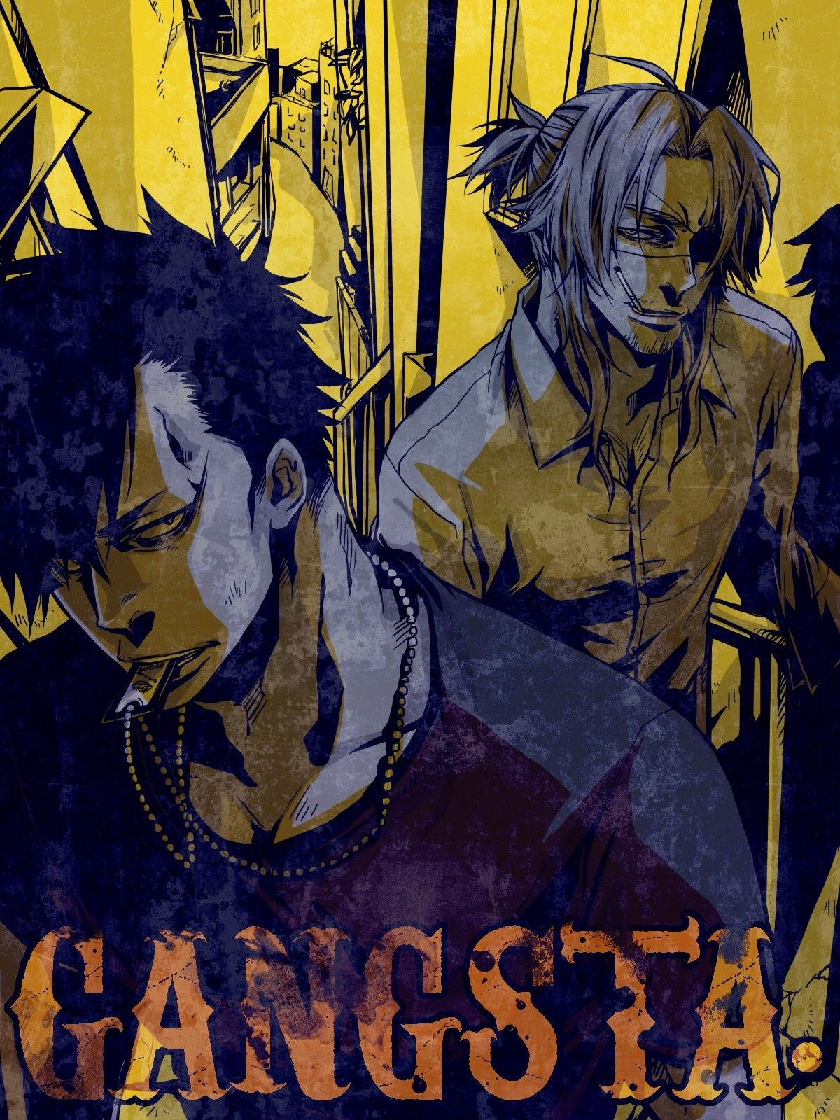 Pin by Smile BeNormal on gangsta. Gangsta anime, Anime