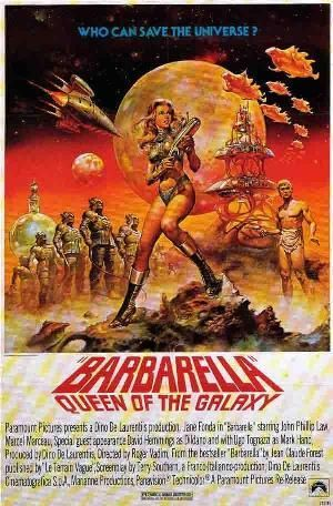 Films with fashion influence - 1968 Barbarella poster