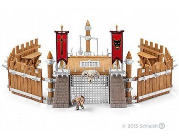 Kids Toy Realistic Detailed Schleich Big Knight/'s Castle Christmas Gift