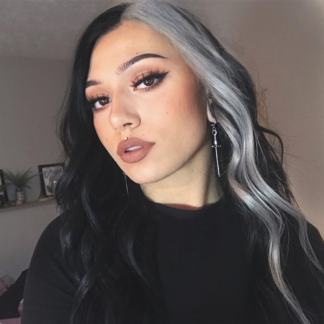 80 Pretty And Attractive Blue Hair Style Page 13 Of 21 In 2020 Hair Color Blue Aesthetic Hair Grunge Hair