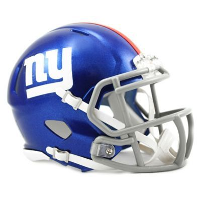 ... Riddell NFL New York Giants Speed Mini Helmet Blue white in 2018 ...  cheap ... 164f8178682