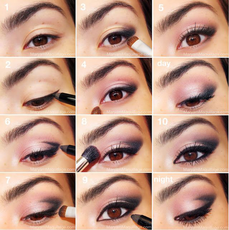 Pink Smokey Eye Tutorial - #eyemakeup #pinkshadow #eyeshadow #eyes #makeup - bellashoot.com
