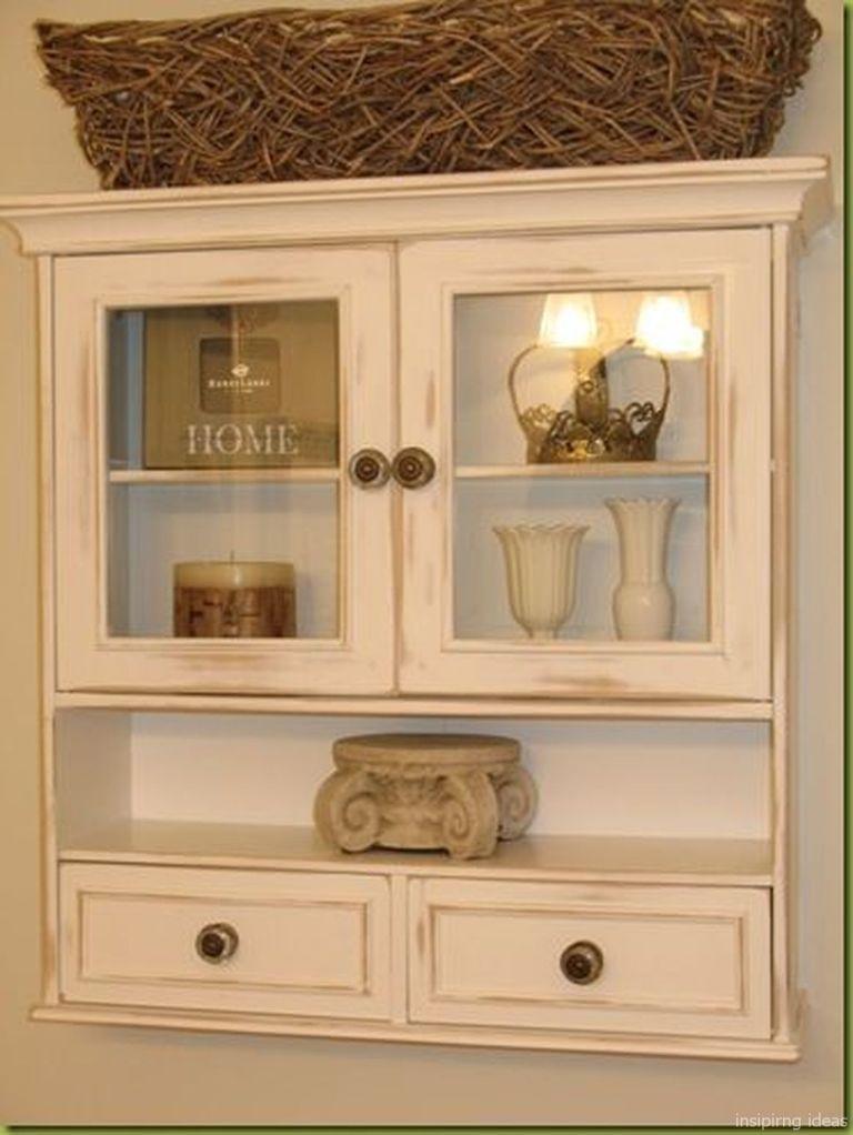 130 Rustic Storage Cabinet Ideas On A Budget Bathroom Shelf Decor Bathroom Cabinets Over Toilet Bathroom Cabinets Diy