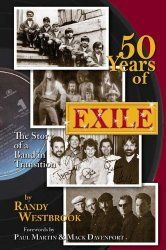 """Are you a fan of Exile? You will want to grab a copy of their latest book, """"50 Years of EXILE: The Story of a Band in Transition."""" Details below #kyhistory #exile"""