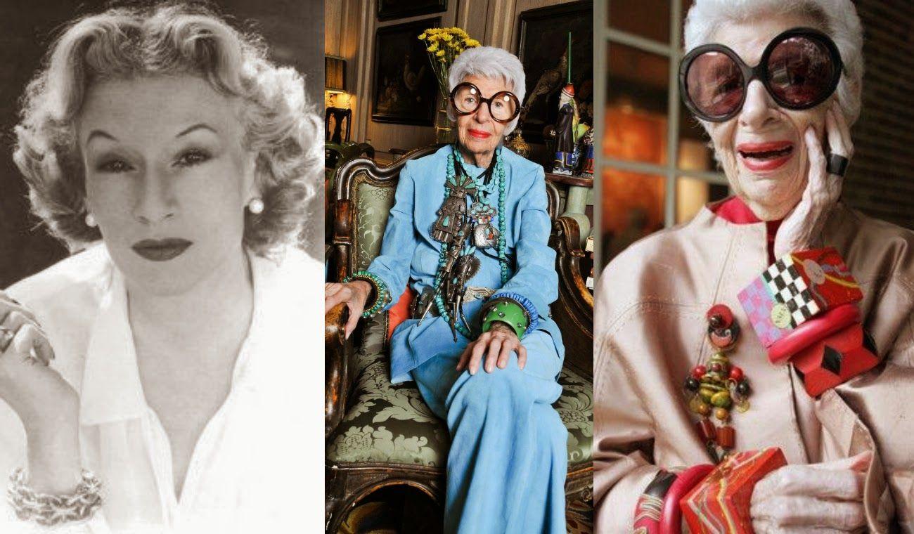 73e58aa3f Style & Design Icon: Iris Apfel... | Style & Design Icon: Iris Apfel ...