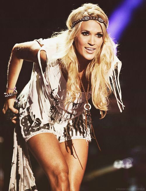 Carrie Underwood. Just got tickets can't wait!! You never know who you will run into!! Lmfao!
