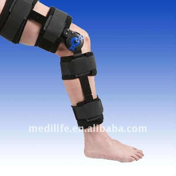 Post Op Knee Brace With Cool Knee Extension Brace Knee