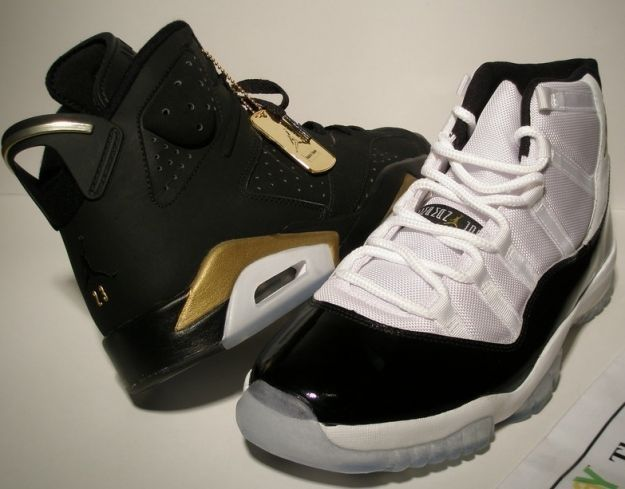 cc19ee62a12518 Gold medals package 6s and concord 11s