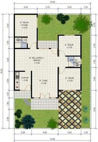 Pin by Giok Fergisona on House Plan Pinterest
