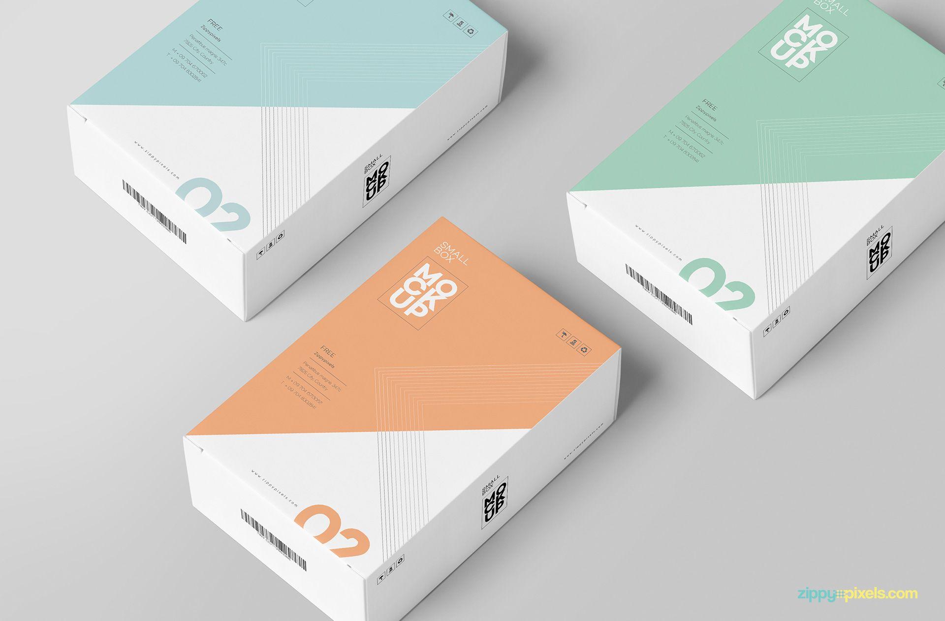 Download Free Customizable Card Box Mockup Zippypixels Box Mockup Card Box Hang Tag Design