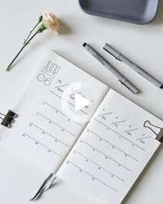 35 Minimalist Bullet Journal Spreads You Have To Try Right Now - TheFa