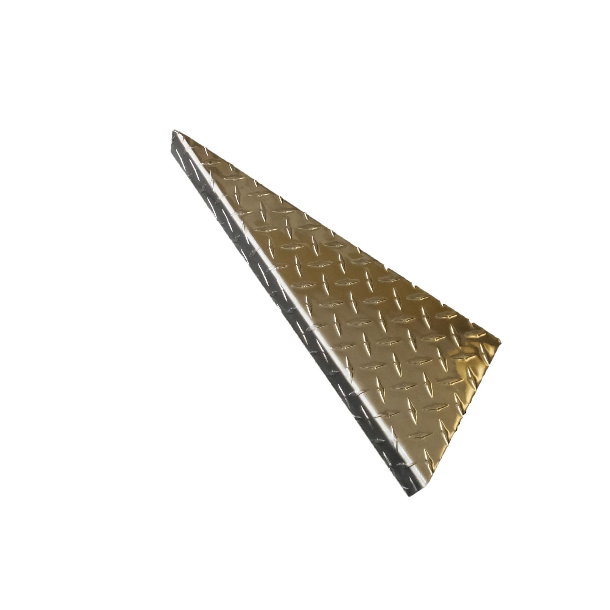 Tail Light Bracket, Aluminum Diamond Plate