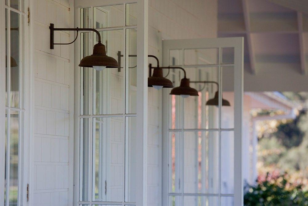 verandah lighting. Scone Farmhouse, Verandah Lighting, French Doors, Copper Lights Lighting L