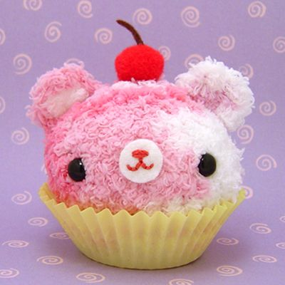 Amigurumi Cupcake bear by amigurumikingdom on DeviantArt