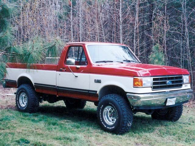 Image Result For F150 Late 80s Model Early 90s Model Trucks