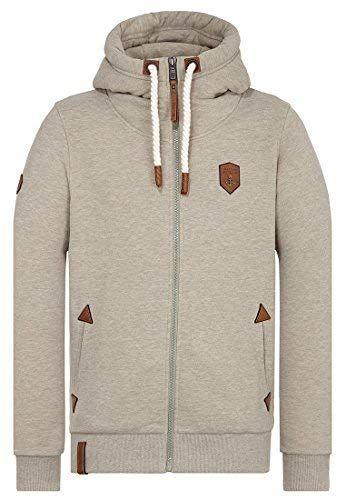 Naketano Male Zipped Jacket Schwarzkopf   Bekleidung