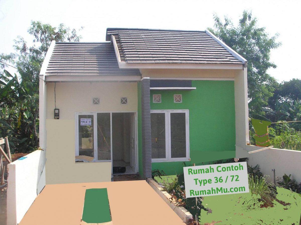 Desain Rumah Type 36 72 Cantik Cek Bahan Bangunan