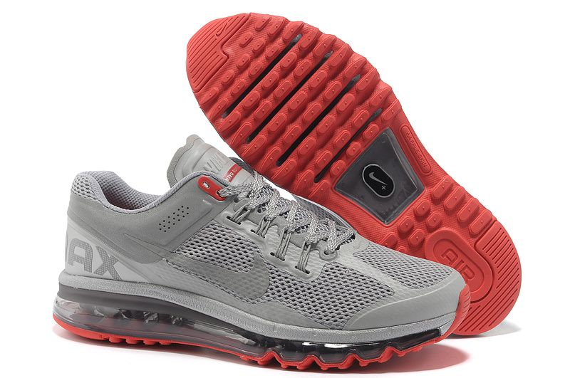 save off 883dc a1044 Nike Air Max 2013 Limited Edition Reflective Silver Pimento Mens