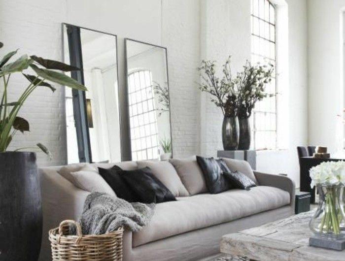 Quelle Couleur Pour Un Salon Idées En Photos Deco Pinterest - Deco salon beige et blanc