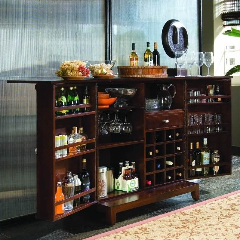 American Drew Tribecca Flip Top Home Bar Bars For Home Building