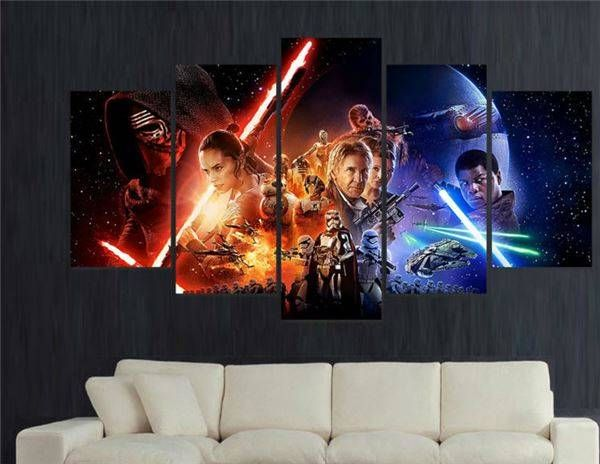 60x32 Inches Print Star Wars Episode The Force Awakens Movie Poster