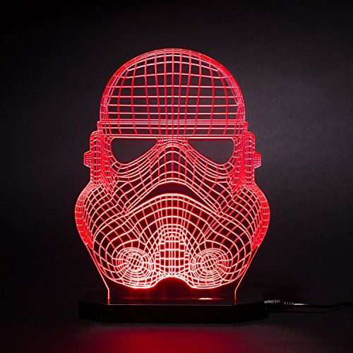 Stormtrooper Helmet 3d Star Wars Led Light Table Lamp Night Light Kids Room Bedroom Gift Night Light Kids Led Night Light 3d Illusion Lamp