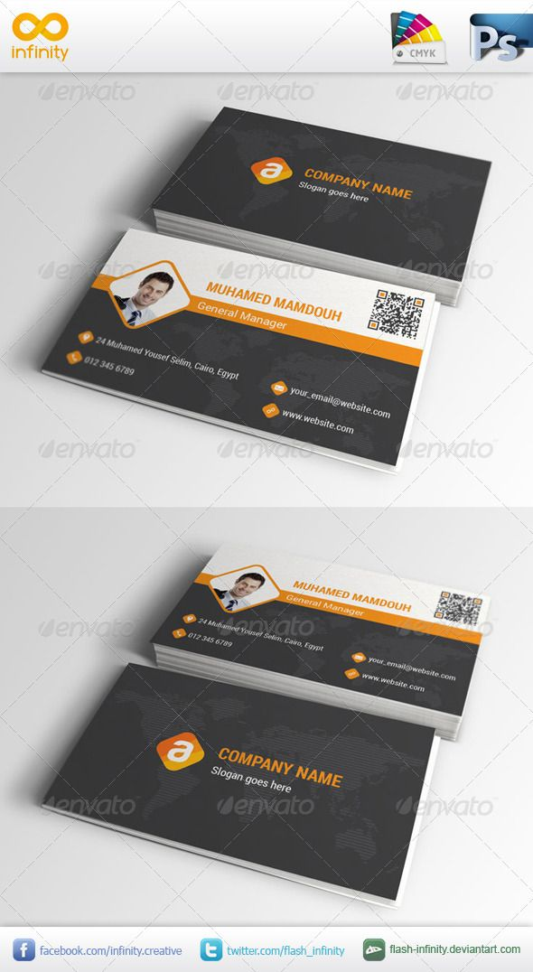 Corporate business card 001 reheart