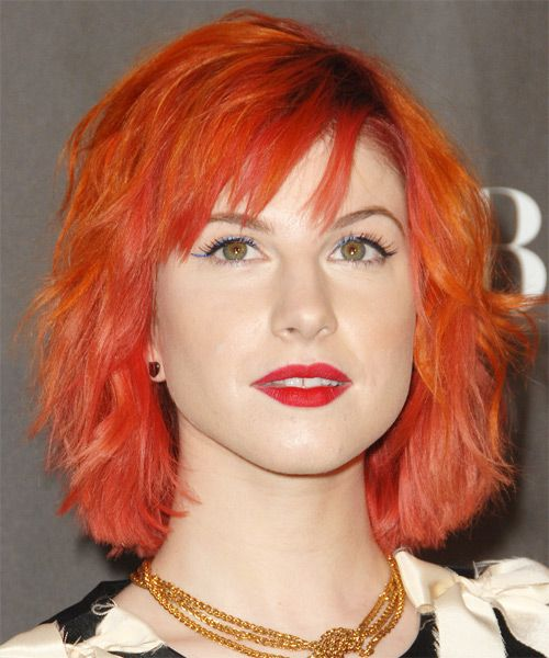 Hayley Williams Hairstyle This Is Definitely For The Bold And Brave Besides