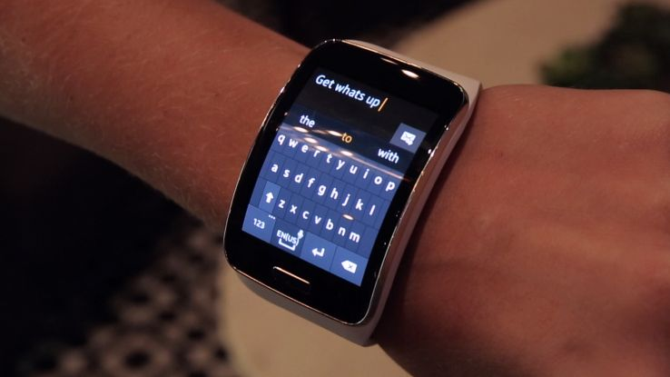Hands On With The Samsung Gear S Smartwatch Tecnologia