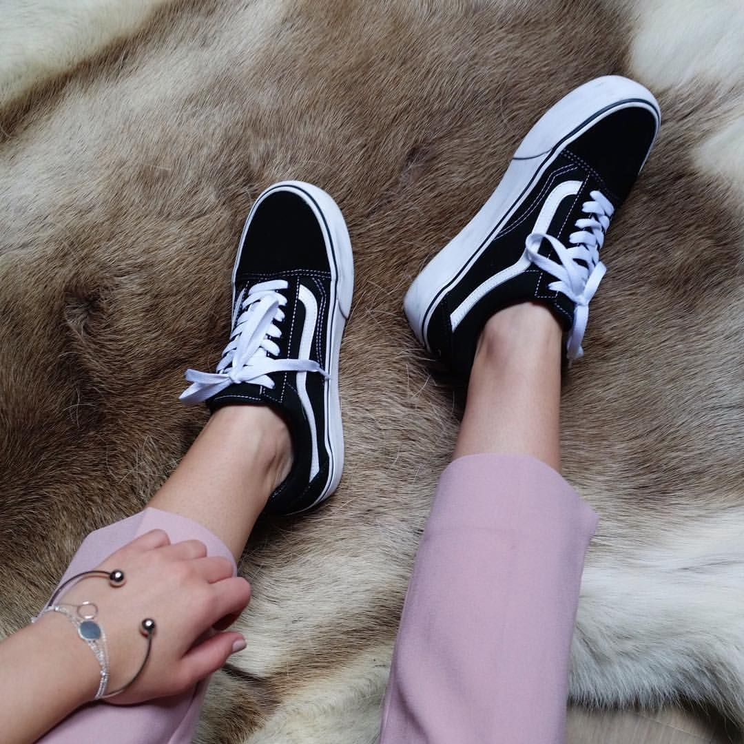 Love this shoes : Vans old skool with platform | Platform ...