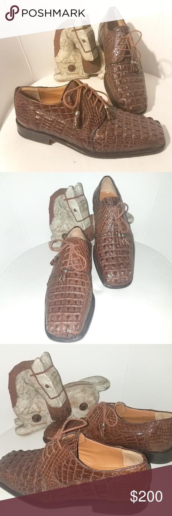 SlickExotica Crocodile Alligator Shoes