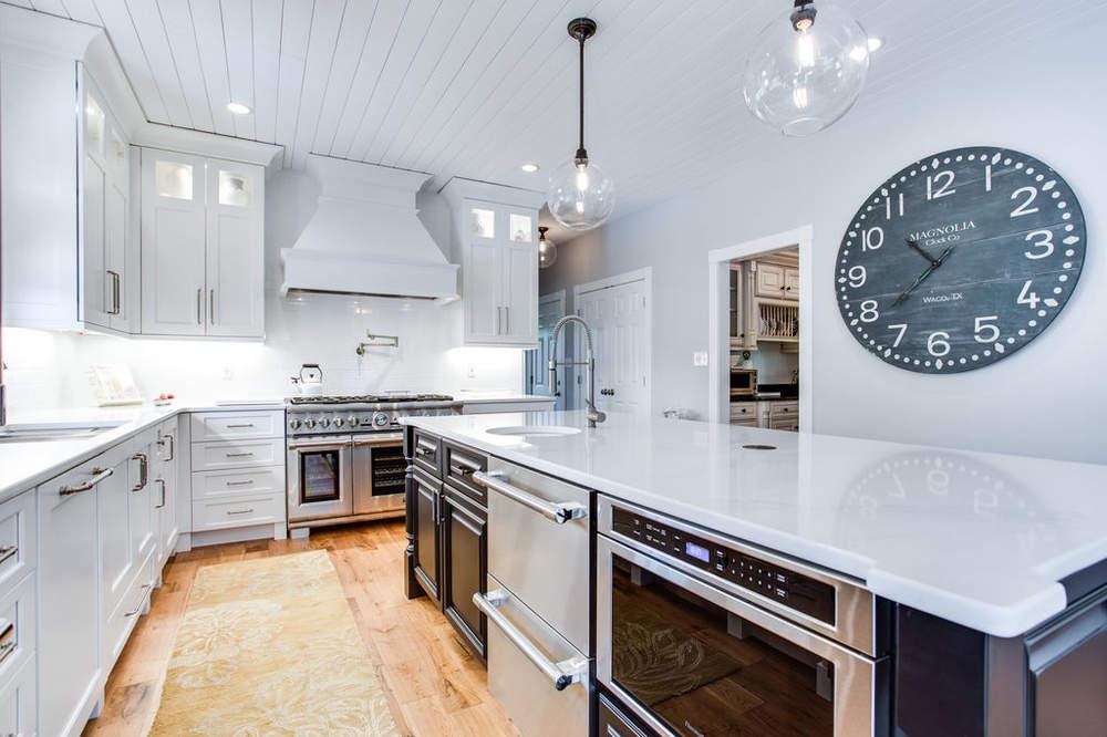 White Black Kitchen Design Ideas Reico Kitchen Design Black