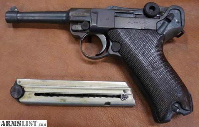 ARMSLIST - For Sale: Erfurt 1917 German mm Luger Pistol